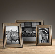 Weathered Oak Stepped Tabletop Frames