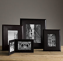 Artisan Leather Wide Tabletop Frames - Black
