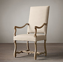 Os De Mouton Fabric Armchair