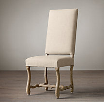 Os De Mouton Fabric Side Chair