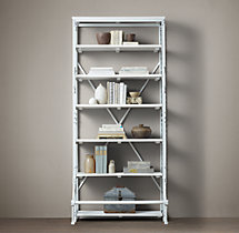 French Library Single Shelving