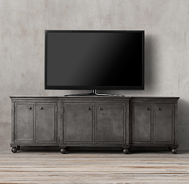 Annecy Metal Wrapped Large Media Console