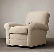 Lowell Upholstered Club Chair