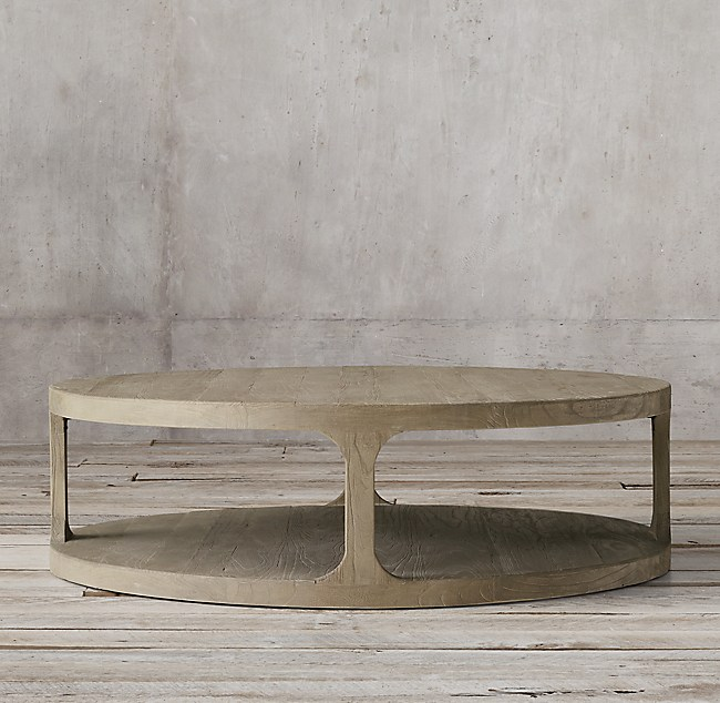restoration hardware coffee table Martens Round Coffee Table restoration hardware coffee table