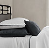 Stonewashed Belgian Linen Tipped Bedding Collection