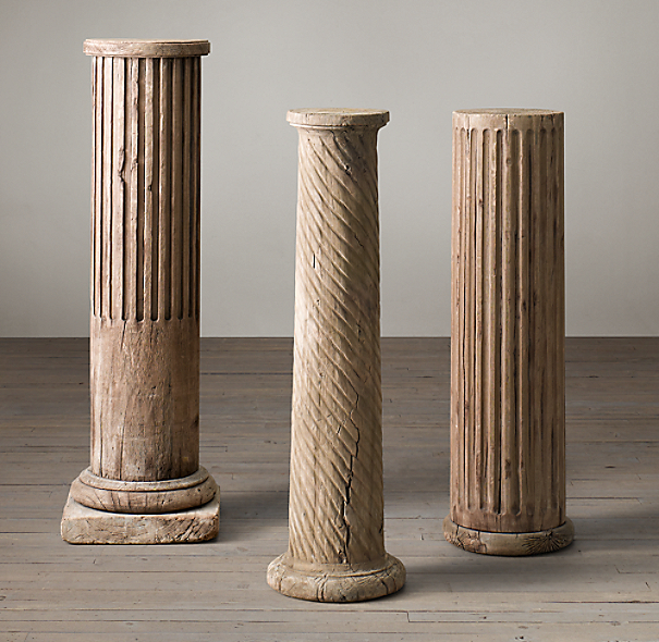 Architectural Columns And Pillars : Th c neoclassical architectural elements column