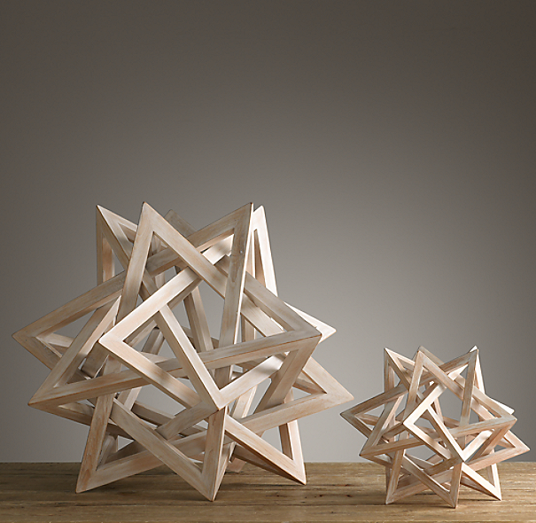 Wood Star Maquette White