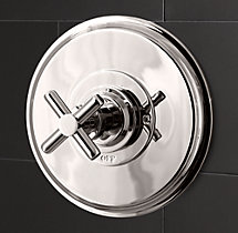 Sutton Balance-Pressure Shower Valve & Trim Set (Backplate)