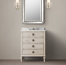 Maison Powder Room Vanity Sink