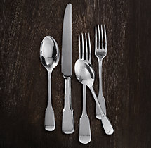 English Fiddlehead 5-Piece Place Setting