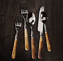 Natural Bone 5-Piece Place Setting
