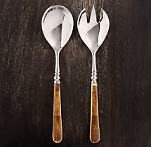 Natural Bone 2-Piece Serving Set
