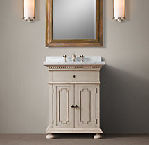 St. James Powder Room Vanity Sink