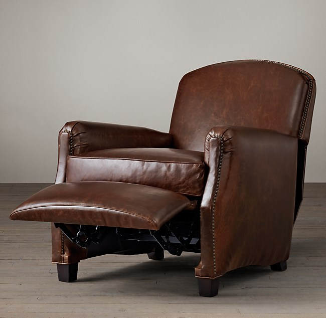 Leather Club Recliner – Leather Recliner Club Chairs