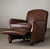 Keaton Leather Club Recliner