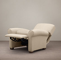 Lowell Upholstered Club Recliner