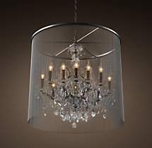 Vaille Crystal Chandelier 32""