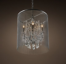 Vaille Crystal Chandelier 22""