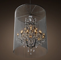 Vaille Crystal Chandelier 45""