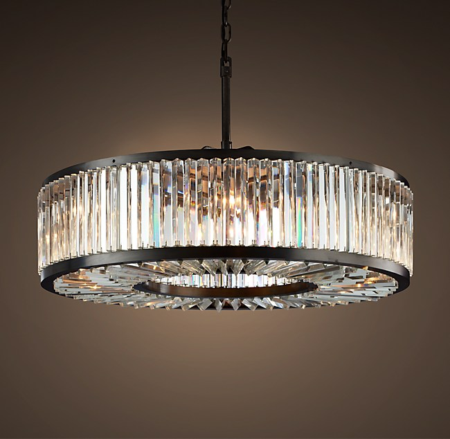 Clear crystal round chandelier 43 welles clear crystal round chandelier 43 aloadofball Image collections