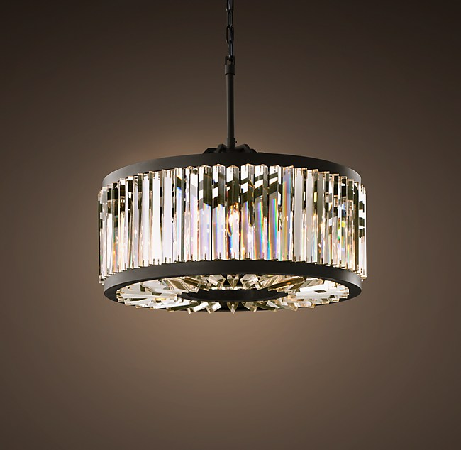 Welles Clear Crystal Round Chandelier 28