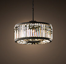 Welles Clear Crystal Round Chandelier 28""