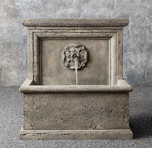Arles Wall Fountain