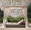 Provence Canopy Double Chaisesave On Select Performance