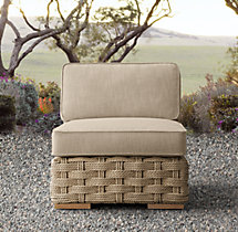 Rutherford Armless Chair Cushion