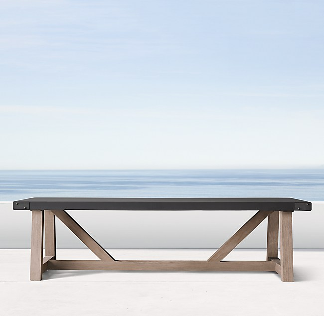 prod E F - restoration hardware coffee table