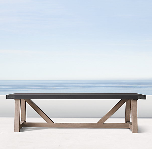 Rh French Beam Coffee Table