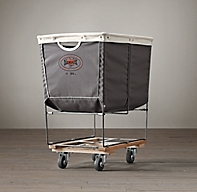 Laundry Cart Grey Medium