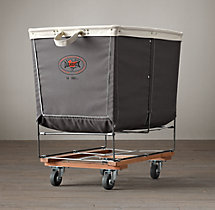 Laundry Cart Grey Large
