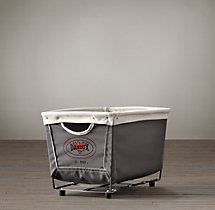 Laundry Cart Grey Small