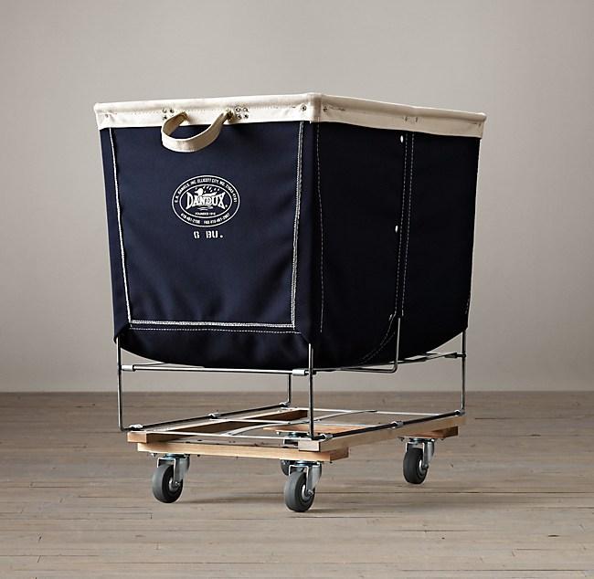 Laundry Cart Navy Large