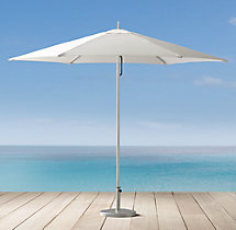 Tuuci® Ocean Master Hexagonal Polished Titanium Umbrella