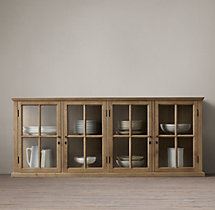 Hampton Casement Glass Sideboard