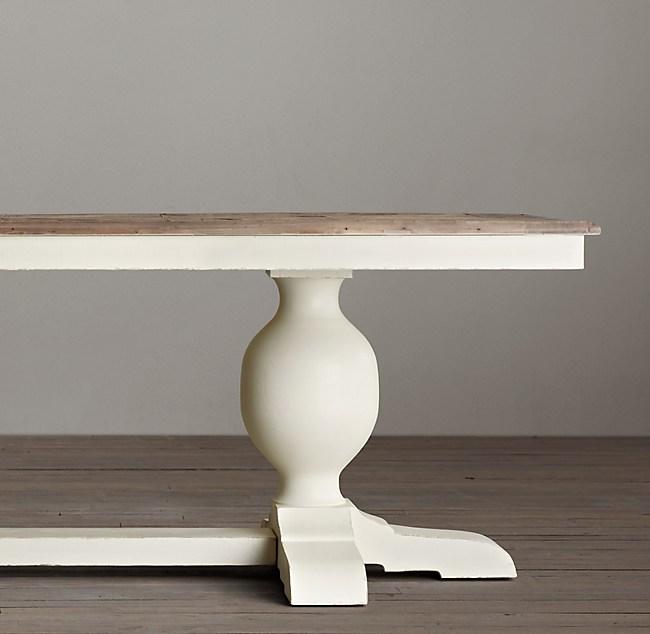 Baroque Parquet Rectangular Dining Table