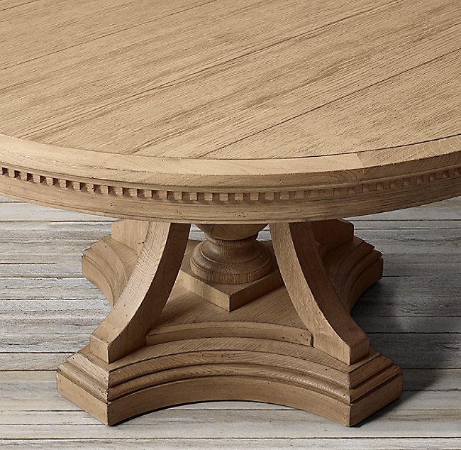 St James Round Dining Table Color Preview Unavailable Alternate View 1 2