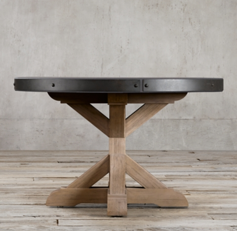 All Round Oval Tables RH
