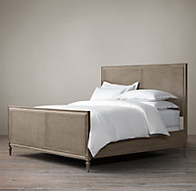 Maison Caned Bed With Footboard