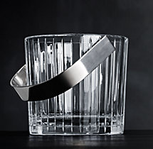 Boulevard Cut Crystal Ice Bucket