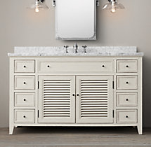 Shutter Extra-Wide Single Vanity