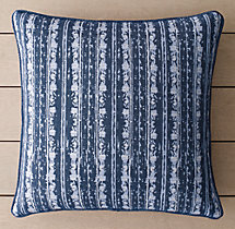 Perennials® Corsica Multi Stripe Outdoor Pillow Cover - Royal Blue