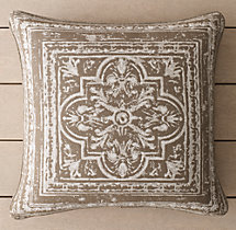 Perennials® Corsica Tile Outdoor Pillow Cover - Mocha