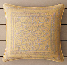 Perennials® Corsica Tile Outdoor Pillow Cover- Soleil