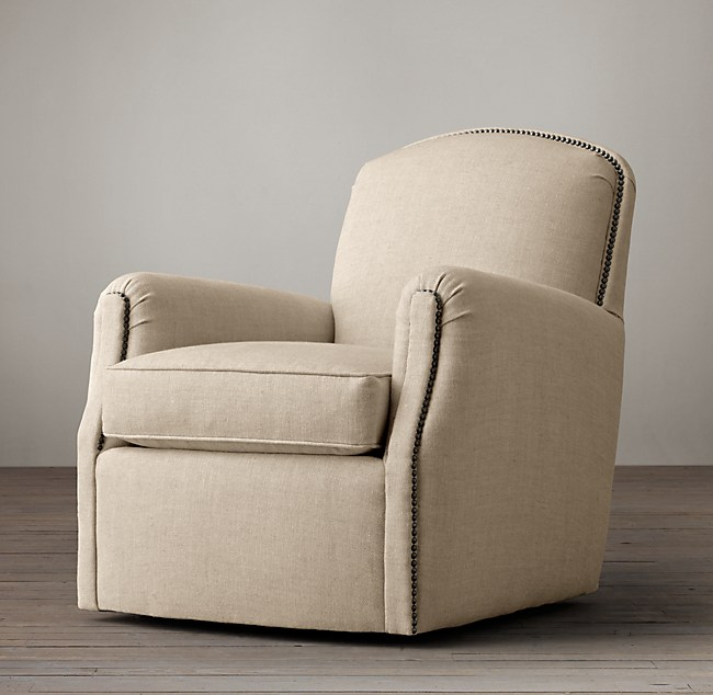 Keaton Club Swivel Chair