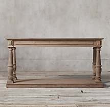 Distressed Rectory Small Console