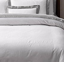 Italian Double Border Sateen Duvet Cover