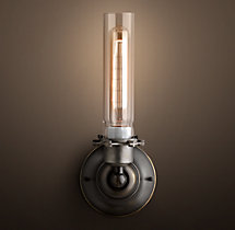 Edison Glass Sconce